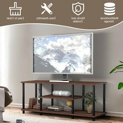 """Brown Home Living Room Center Console TV's 50"""""""
