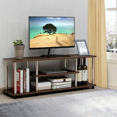 3-Tier TV Stand Listed Stainless Withstand