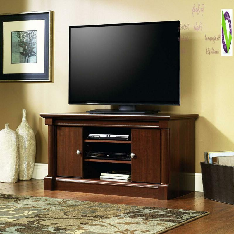 Sauder 411864 Panel Tv For Up Select Cherry Finish
