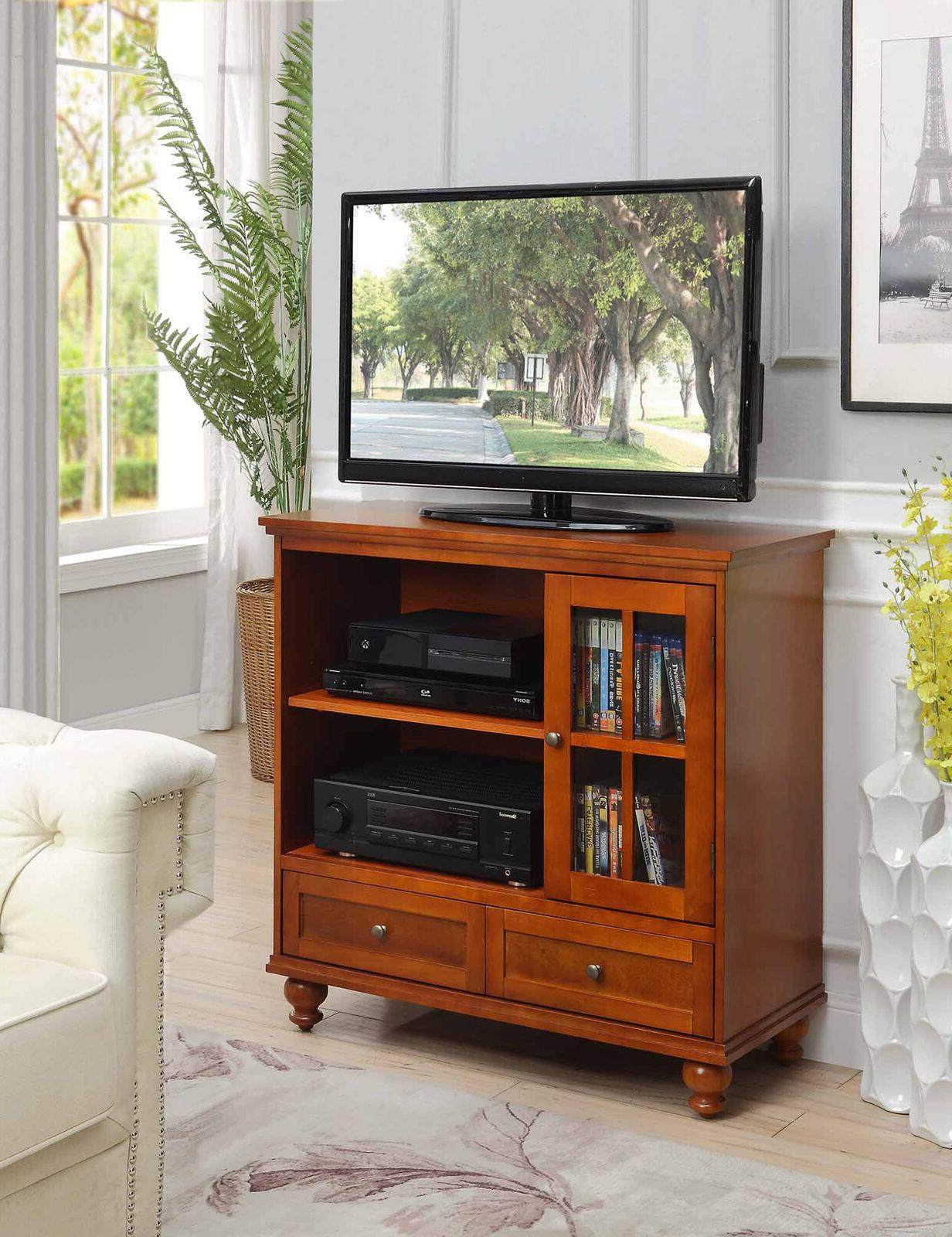 42 transitional highboy tv stand home media