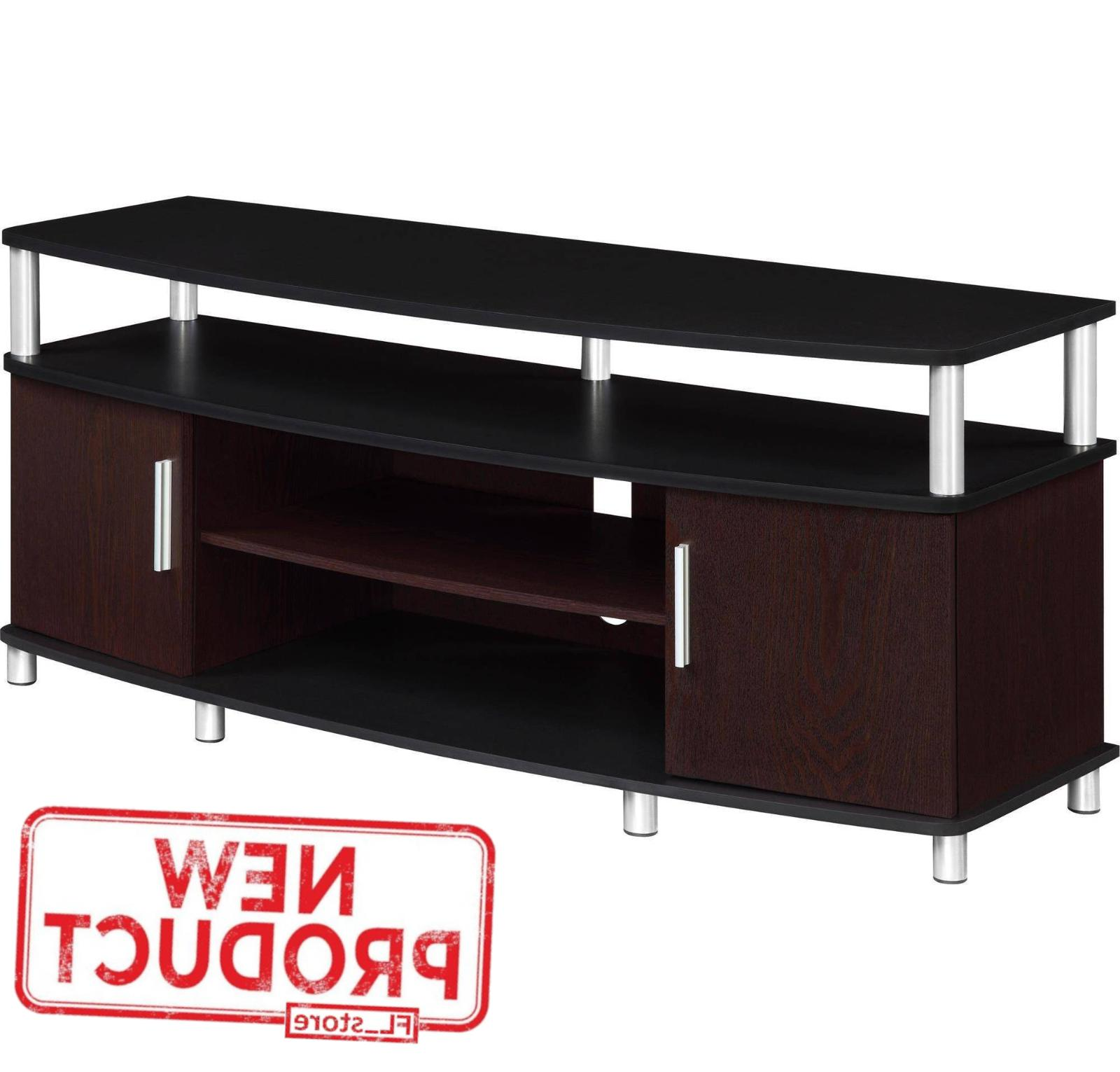 50 tv stand storage cabinet entertainment home