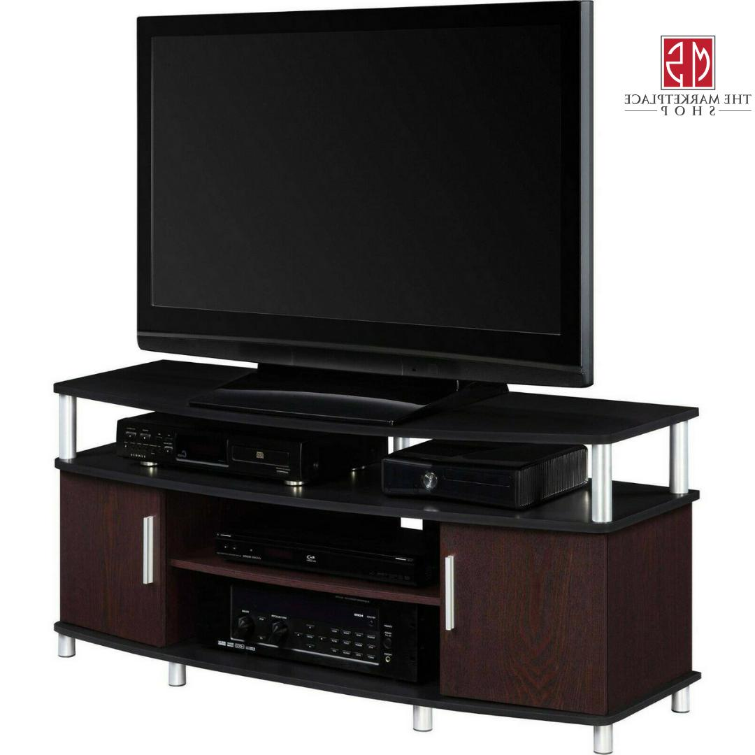 """50"""" TV Stand Storage Cabinet Entertainment Table Media"""