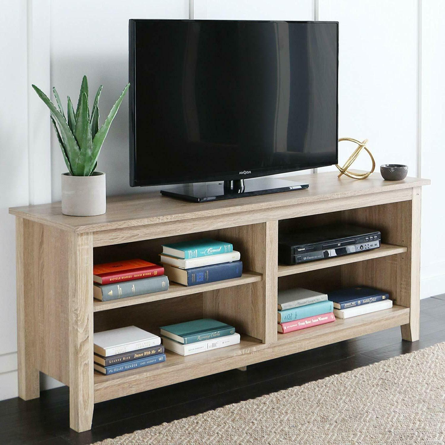 58 tv stand storage console new
