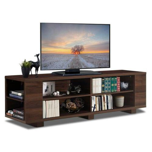 """59"""" Console Wood Storage Cabinet Home"""
