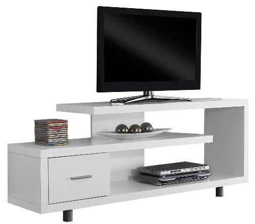 """60"""" TV Stand Console Shelves Drawer Table Entertainment Wood"""