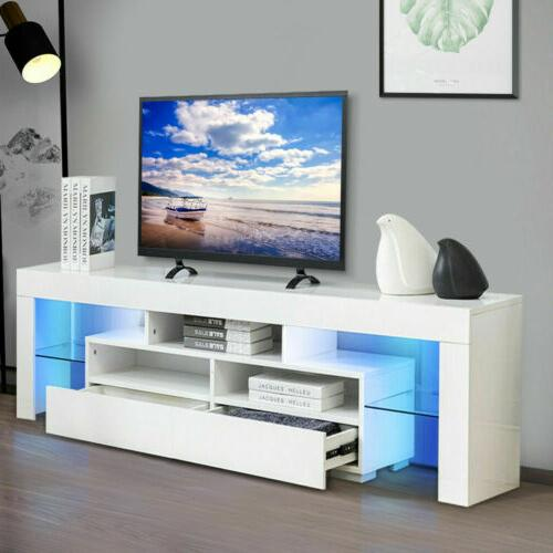 63 high gloss tv stand cabinet console