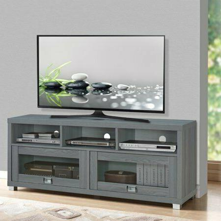 65 Inch TV Stand With Storage Wooden 50inch 55inch Home Furn