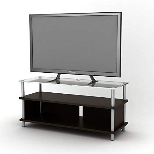 Atlantic Table Top TV Stand Universal Table Top TV Stand, Adjust Base Mount for up 66 lbs, in Black