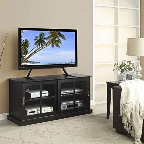 Atlantic TV Stand Table Top TV Stand, Adjust Base Mount for up to and 66 lbs, in