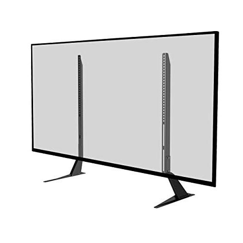 Atlantic Stand Universal Table Top TV Adjust up 66 in