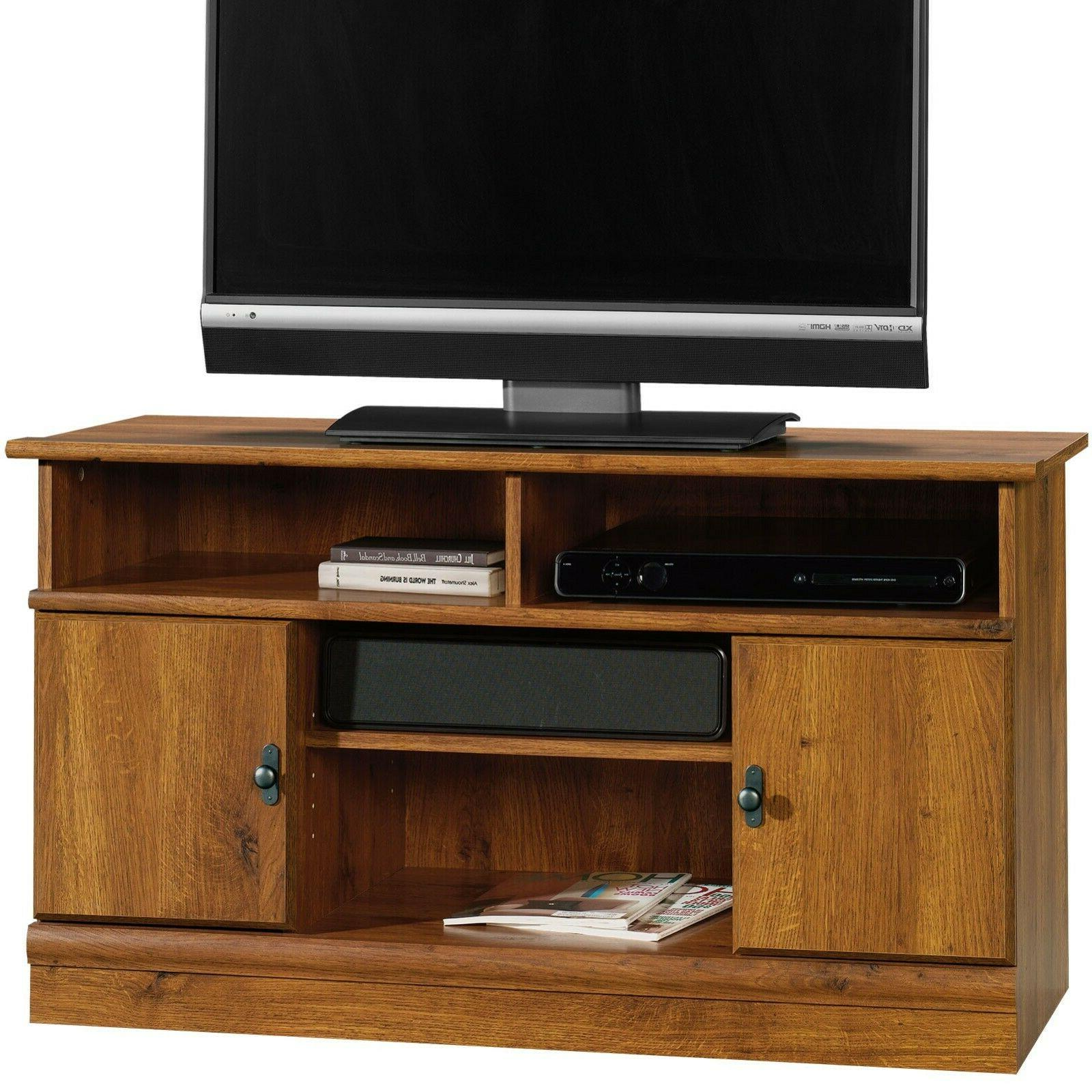 Sauder 407432 Harvest Mill Panel Tv Stand, For TV's up to 42