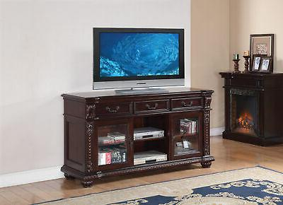 anondale cherry tv stand