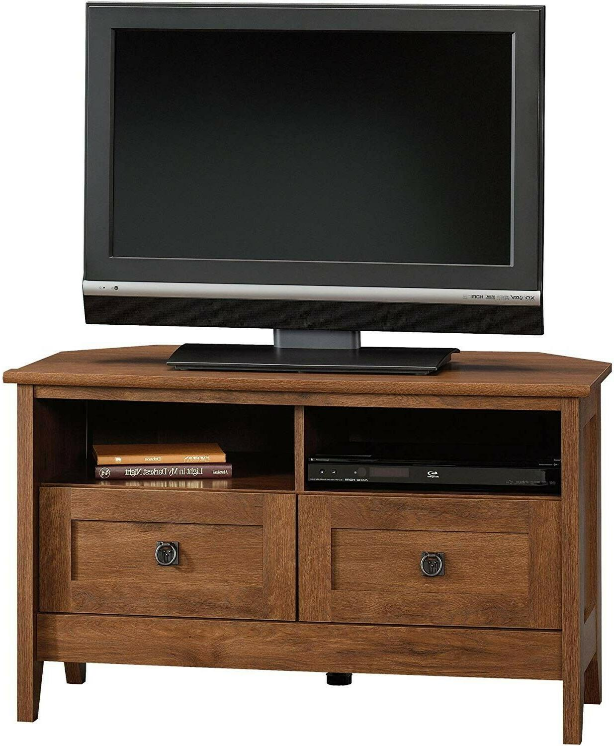 """August Stand For TV's to 40"""" Oiled Oak Finish"""