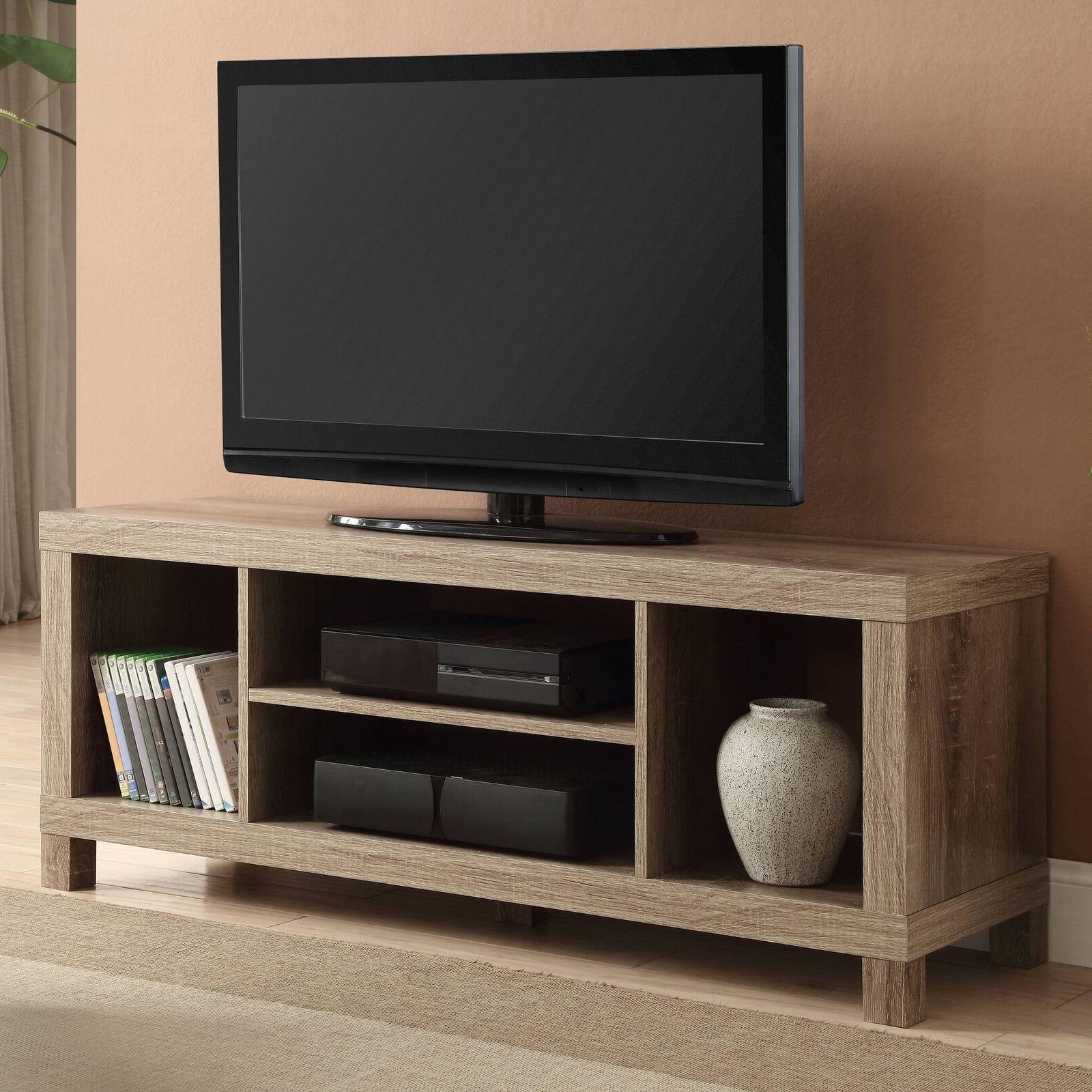 Weathered Wood Furniture TV Stand For 42 Contemporary Media