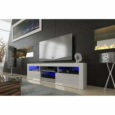 Floating TV Stand with Color