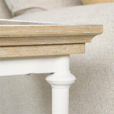 Sauder Canal Table in Oak and White