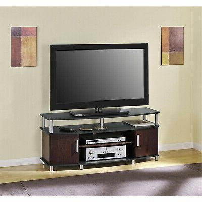 TV STAND MEDIA CENTER Cabinet Console Table Storage Modern E