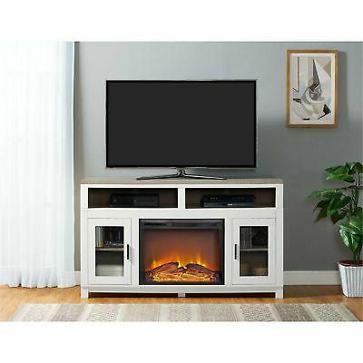 carver electric fireplace tv stand for tvs