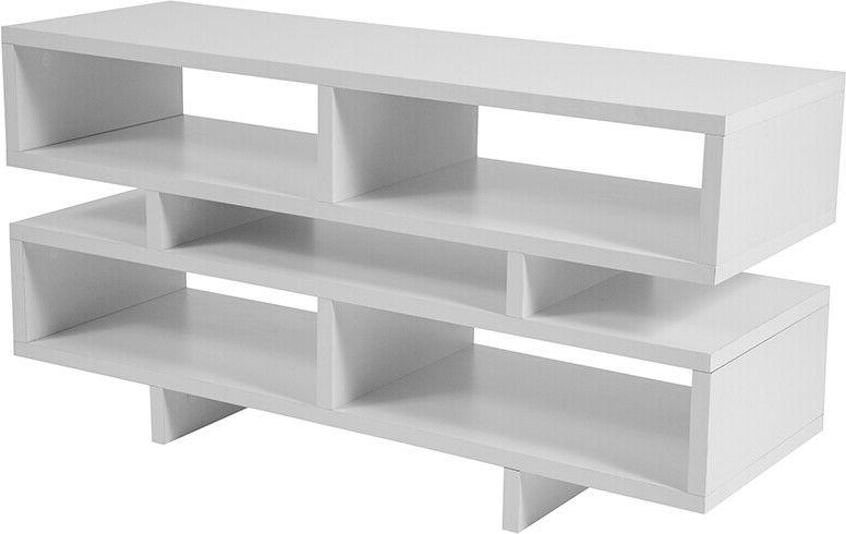 Contemporary Finish Stand and Media
