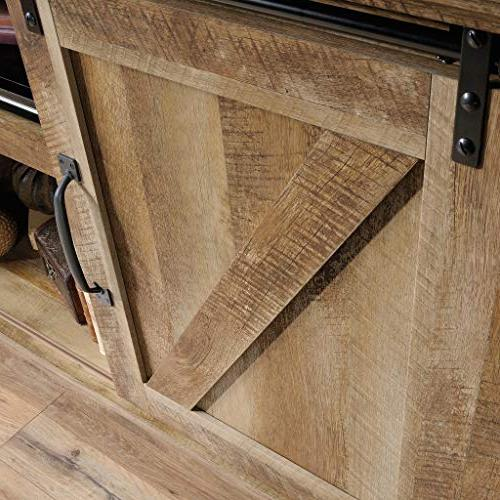 Credenza, Tvs Up to Oak finish