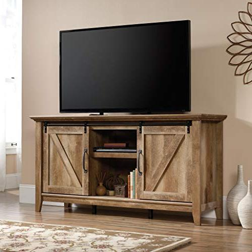 Sauder Pass Credenza, Up to Craftsman finish
