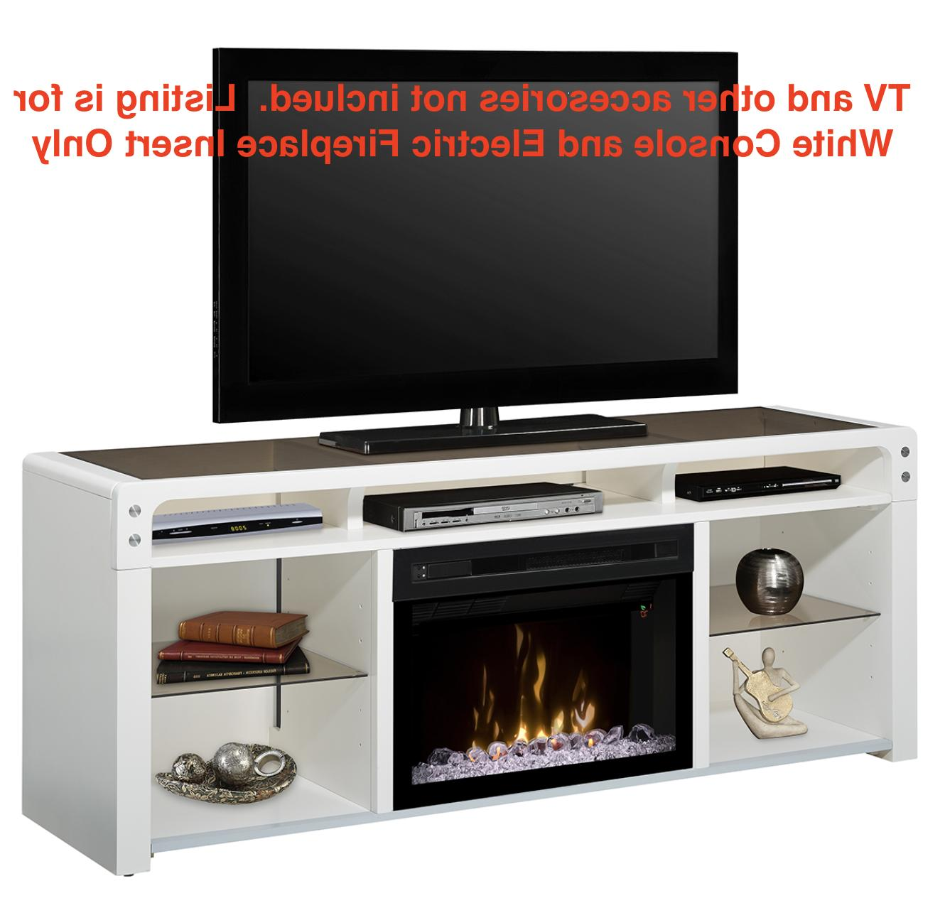 electric fireplace galloway media console tv stand