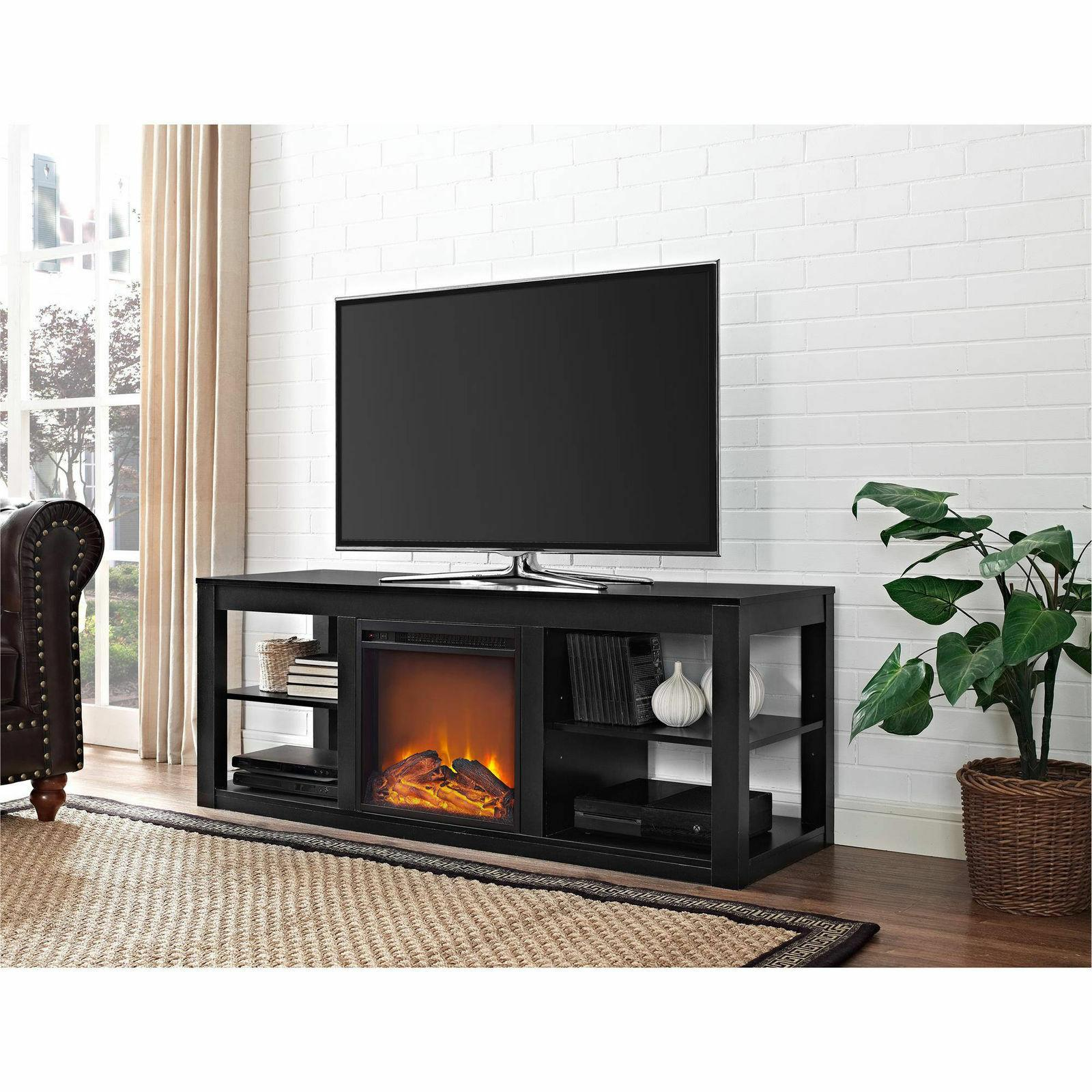"""Electric Fireplace TV Stand Console Flat Screens up to 65"""" M"""