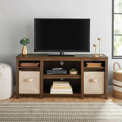 50 Inch Solid Wood Tv Stand Flat Screen Console Modern Table
