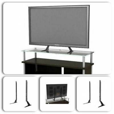flat tv stand lcd table top base