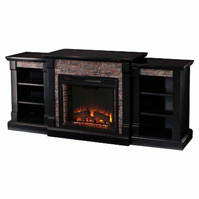 Southern Enterprises Gallatin Electric Fireplace with 23W x