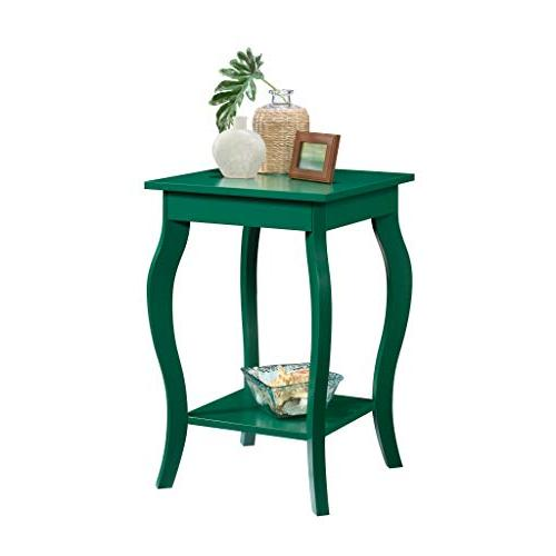 harbor view side table green