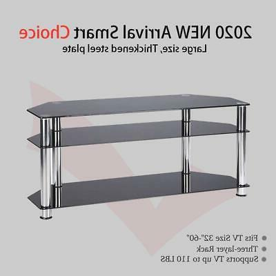 "High Gloss TV Unit Console Table for 32"" 65"" LED LCD Screen"