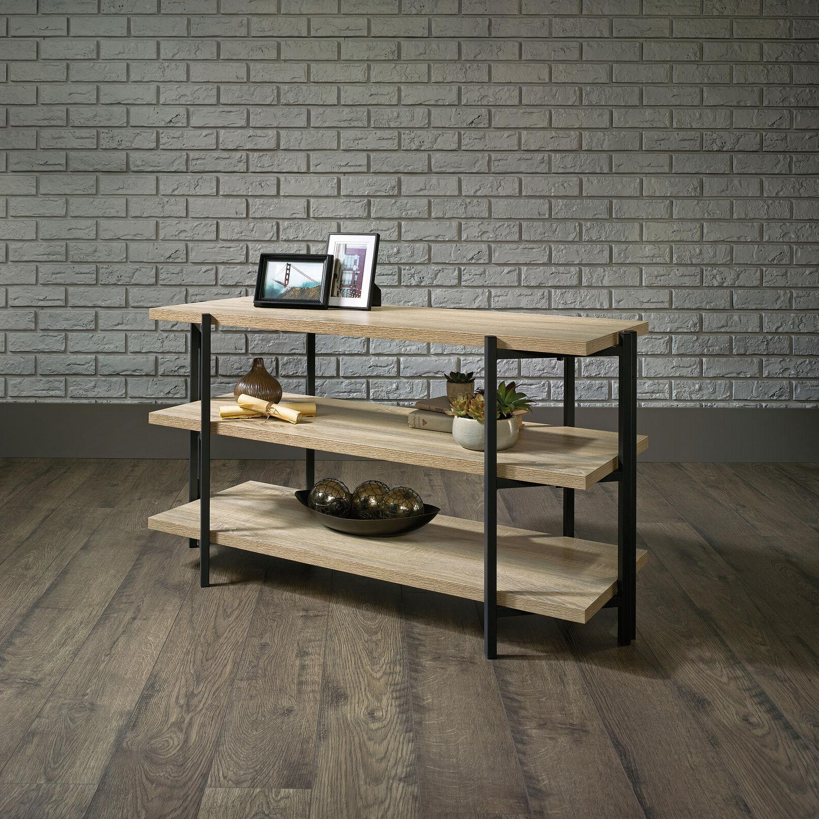 Industrial Entertainment Shelving Wooden
