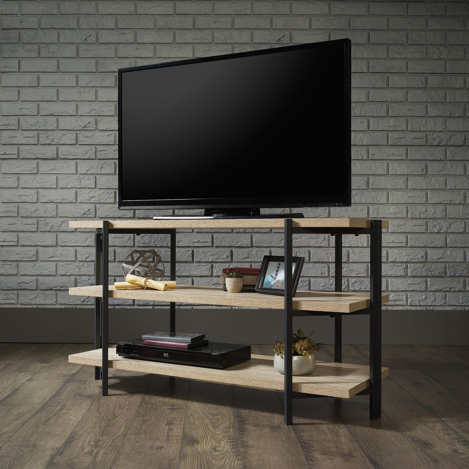 industrial tv stand console entertainment stand display