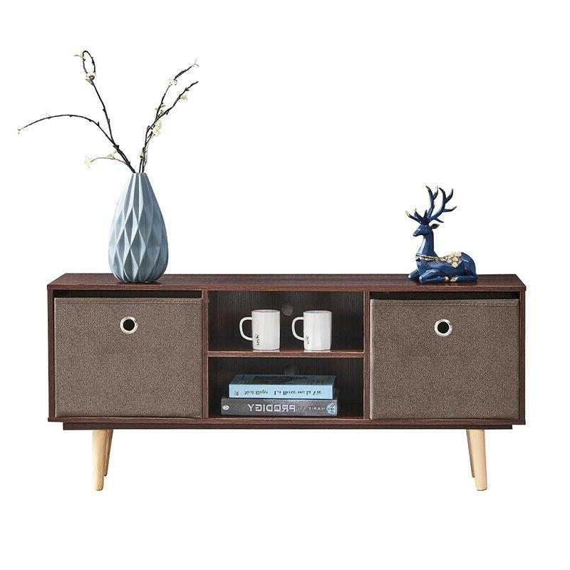 Industrial Stand End Table Bedside Storage