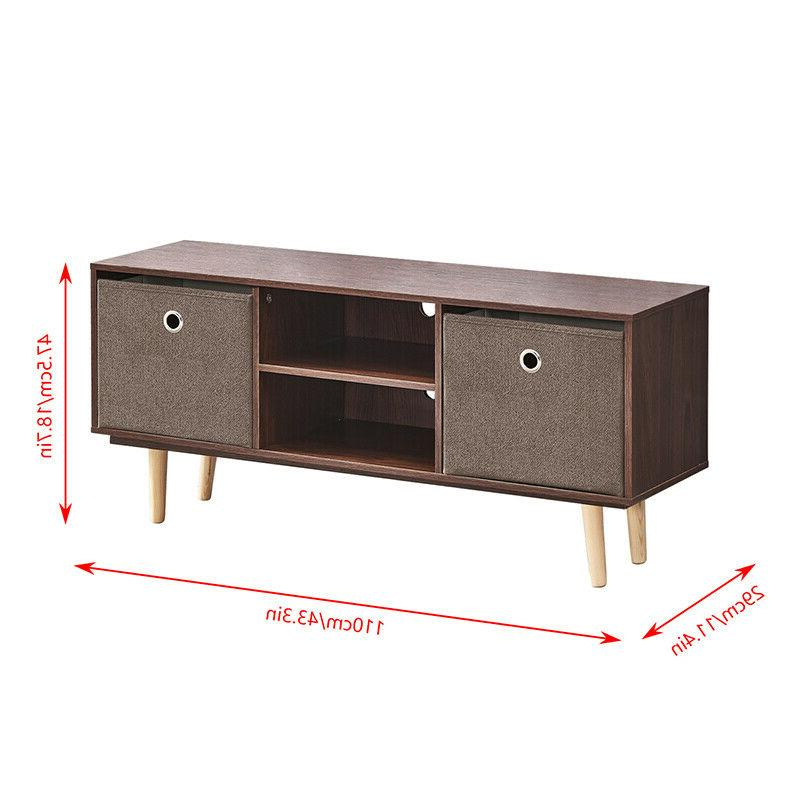 Industrial End Table Storage Living Furniture