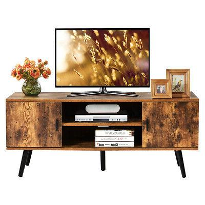 Industrial Stand Entertainment Center for Cabinets