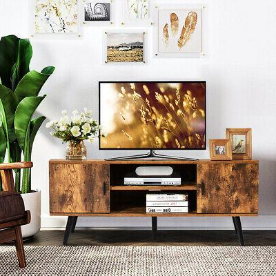 """Industrial Stand Center for TV's to 55"""" Cabinets"""