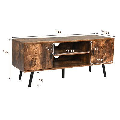 Industrial TV Entertainment Center for TV's to Cabinets