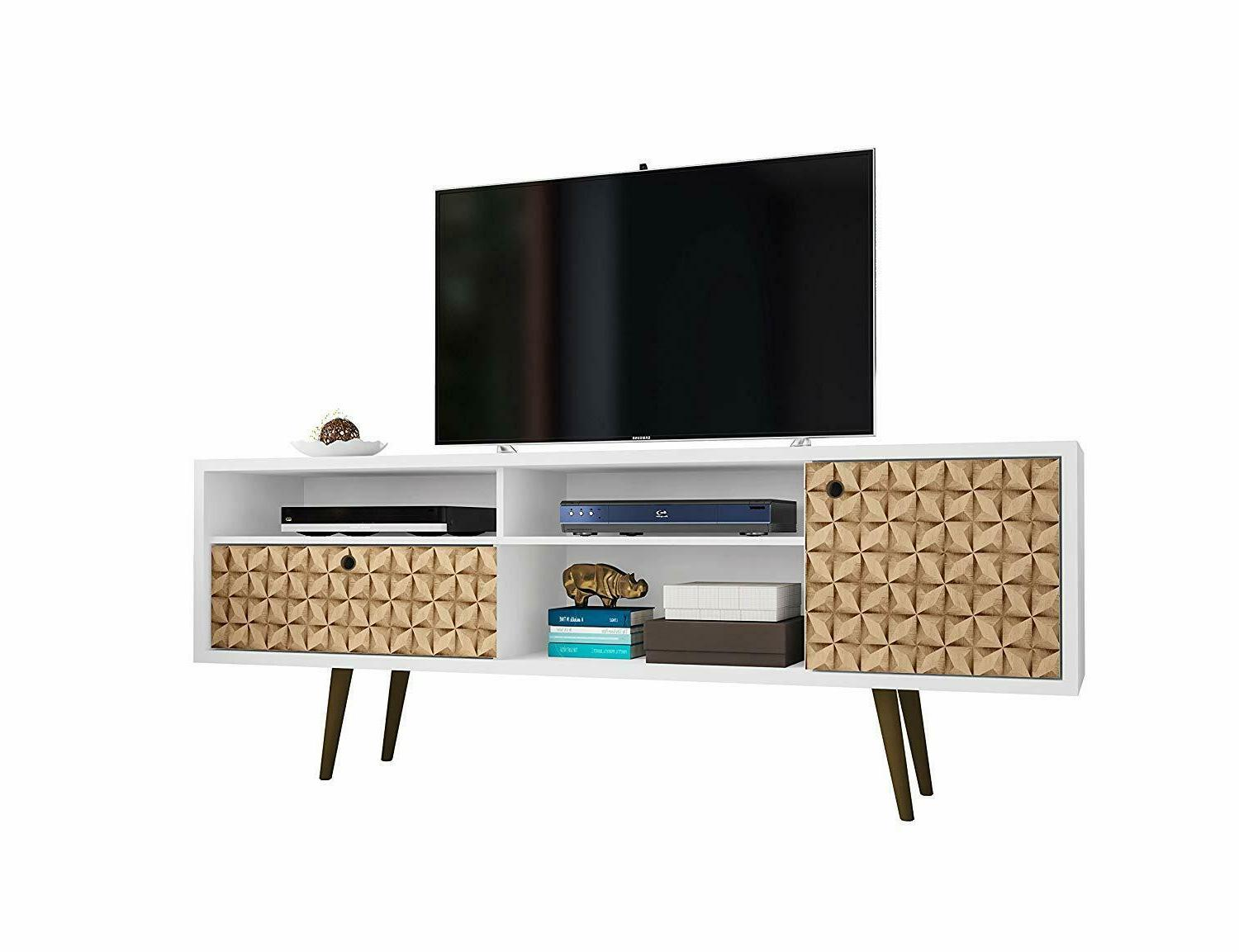 liberty 71 tv stand in white