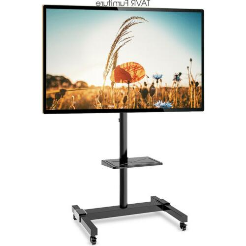 mobile tv stand cart for 32 37