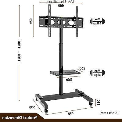 Mobile TV Stand 32 50 55 70 LCDLED Screen TVs