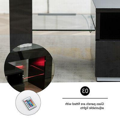 Modern Black Gloss Cabinet Unit Console for