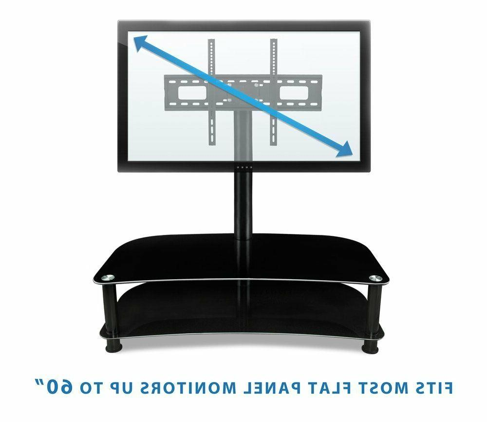 """Mount-It! Shelf with TV Mount Stand 32-70"""" Capacity"""