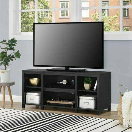 Mainstays TV Stand, For TVs To Black