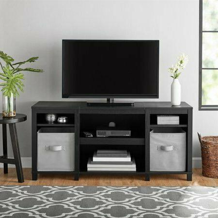 parsons cubby tv stand for tvs up