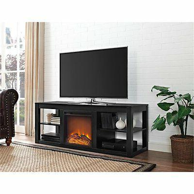 Ameriwood Electric Stand in Black