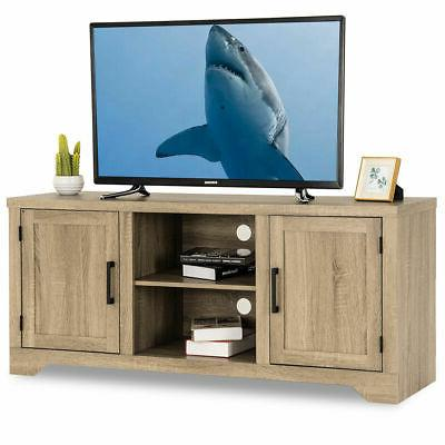 rustic tv stand entertainment center farmhouse console