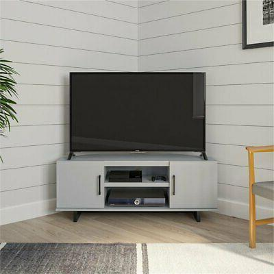Ameriwood Home Southlander TV for up to Dove Gray