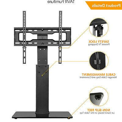 Swivel Tabletop TV Base Stand 37 45 50 55 60 65 inch TVs
